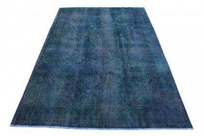 Vintage Teppich Blau in 350x240