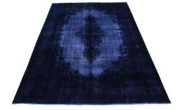 Vintage Teppich Lila Blau in 410x300