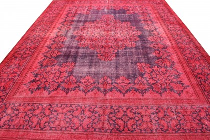 Vintage Teppich Rot in 400x300