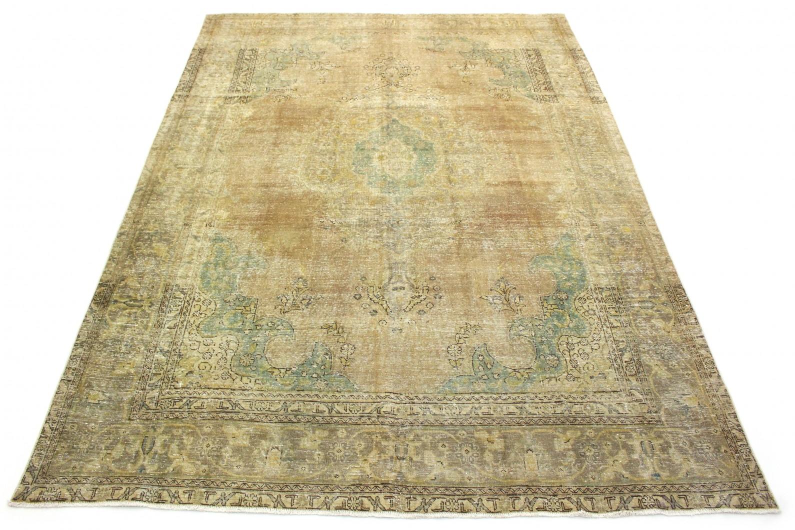 Vintage Teppich Beige Braun Grau in 410x300 (1 / 5)