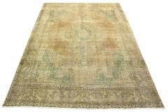Vintage Teppich Beige Braun Grau in 410x300
