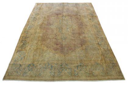 Vintage Teppich Beige in 410x300