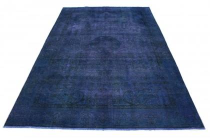Vintage Teppich Blau in 280x190