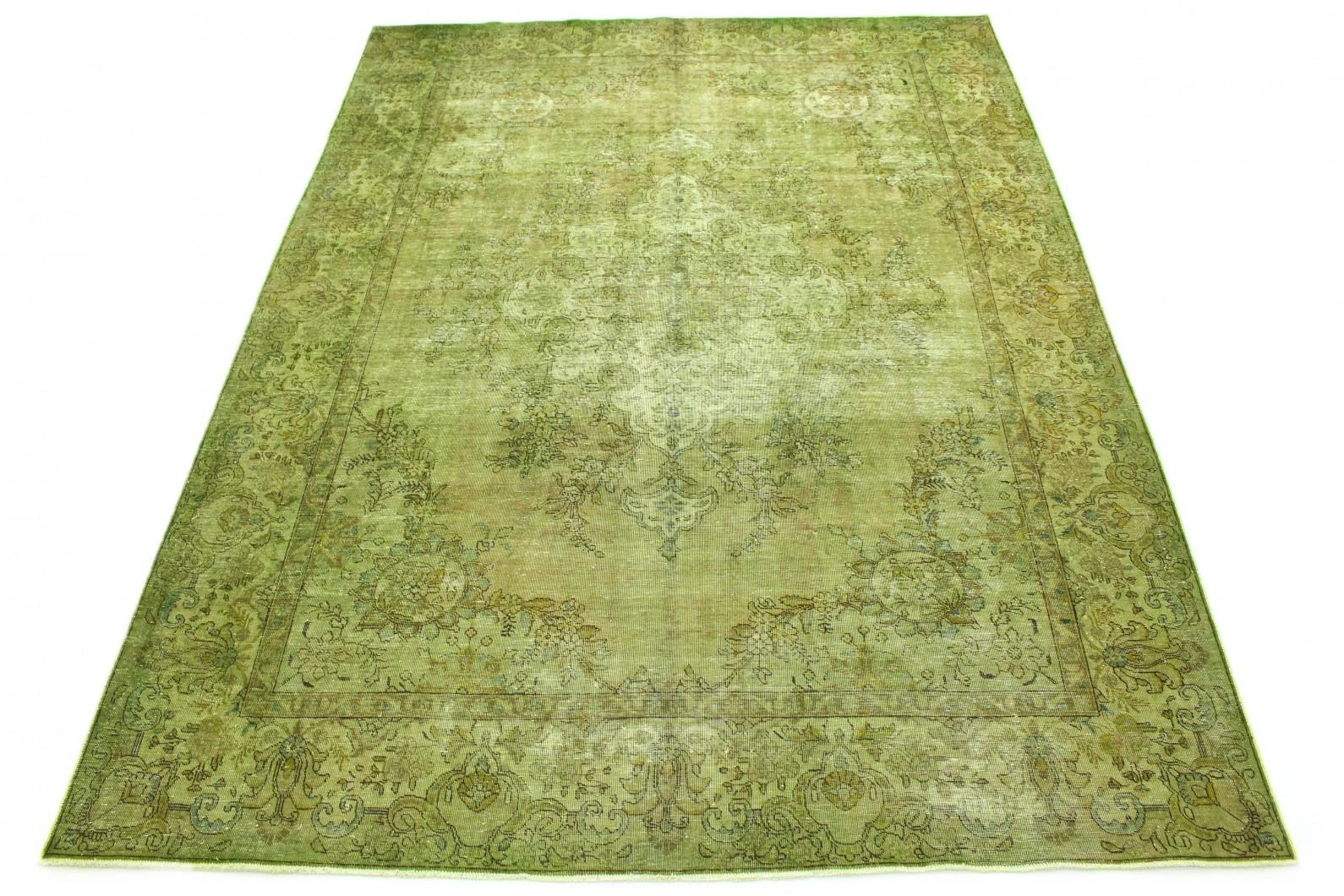 Vintage Teppich Grün in 390x290 (1 / 6)