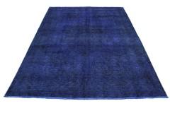 Vintage Teppich Lila Blau in 270x210