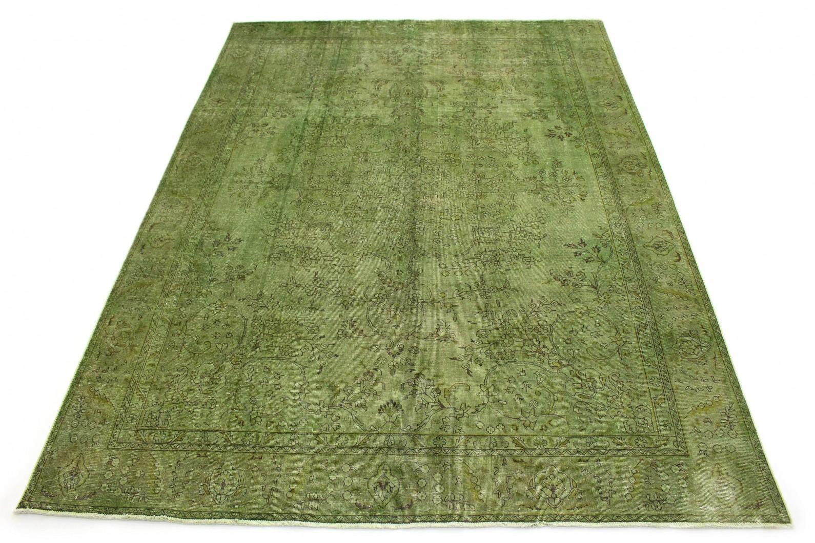 Vintage Teppich Grün in 390x290 (1 / 5)