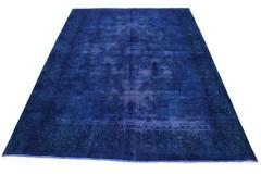 Vintage Teppich Blau Lila in 400x290