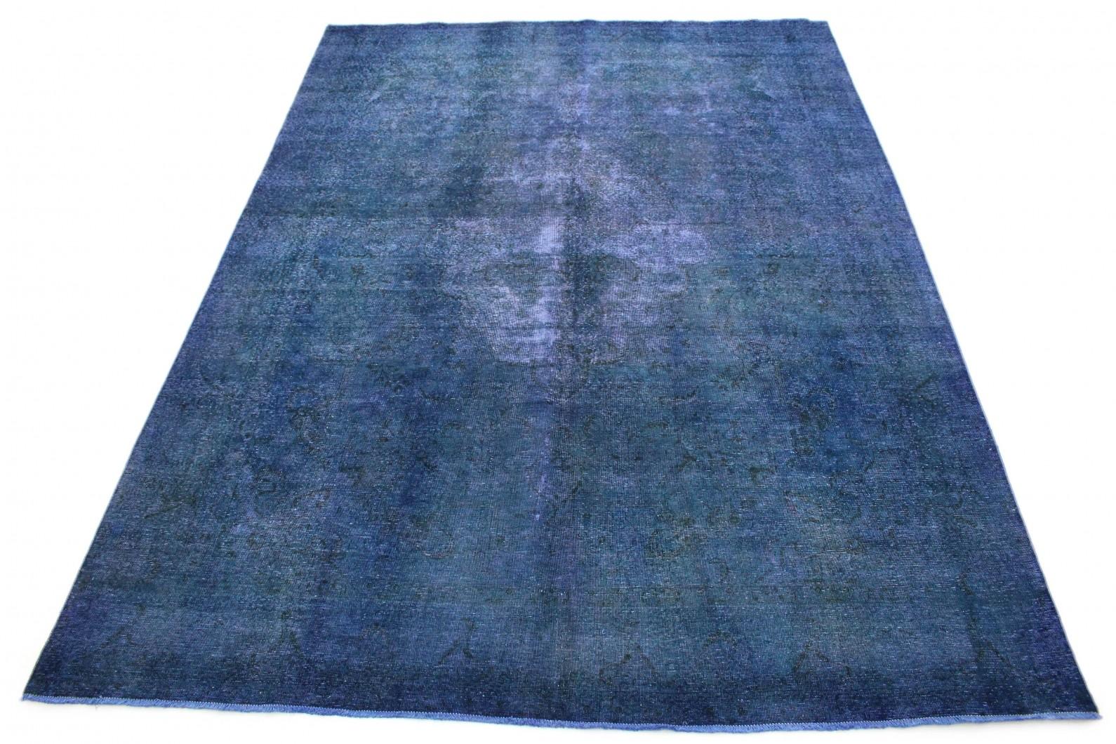 Vintage Teppich Blau in 400x290 (1 / 6)
