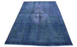 Vintage Teppich Blau in 400x290