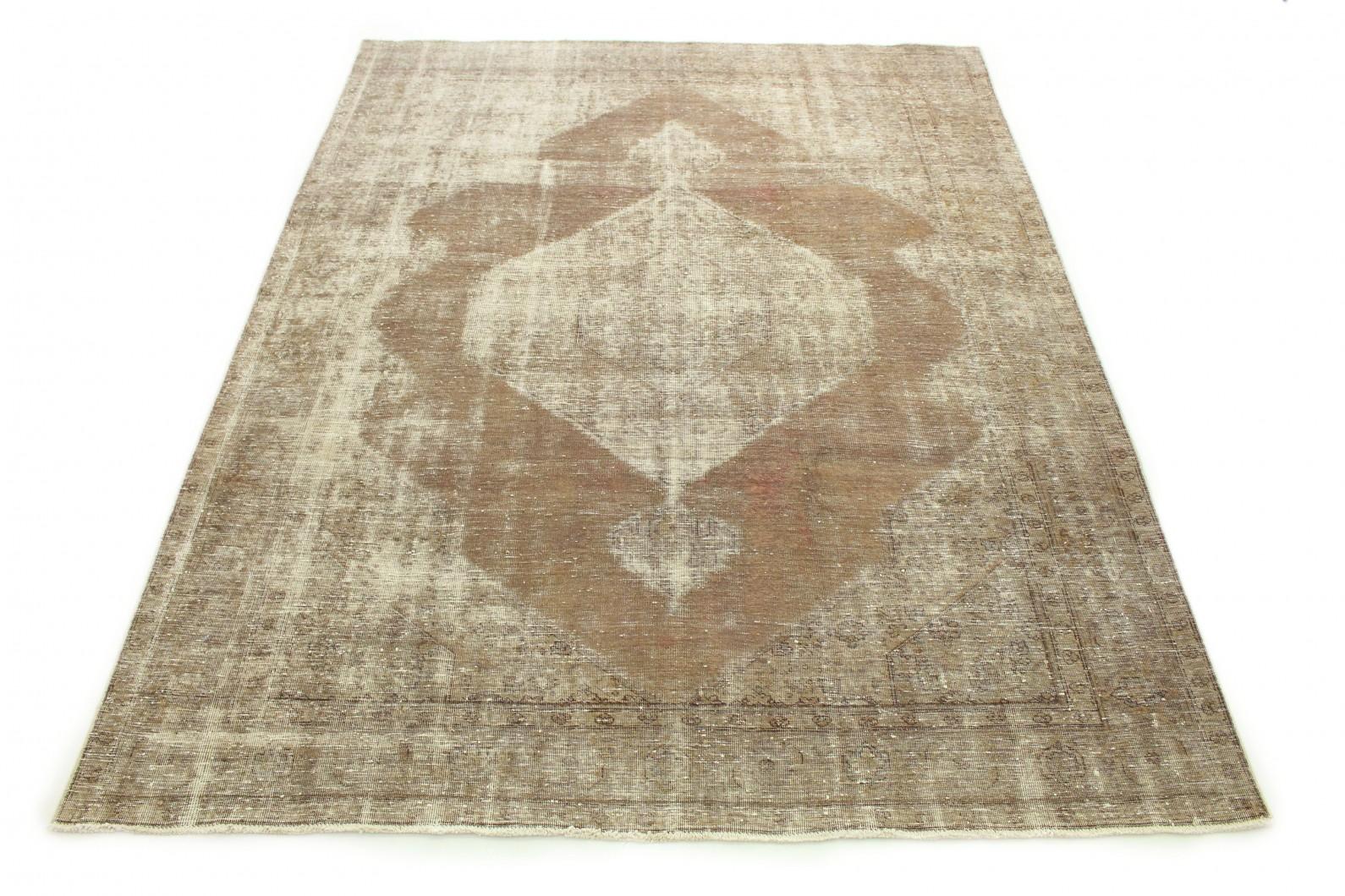 Carpetido Design Vintage-Teppich Sand Braun Grau in 320x250 (1 / 6)