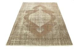 Carpetido Design Vintage-Teppich Sand Braun Grau in 320x250
