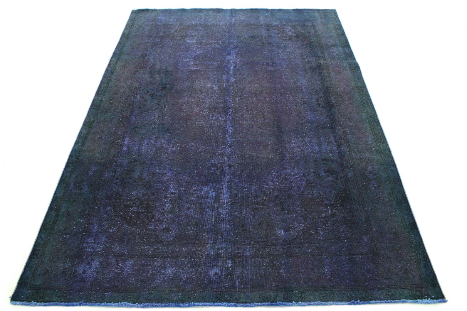 Carpetido Design Vintage-Teppich Lila Blau Grün in 350x250 (1 / 7)