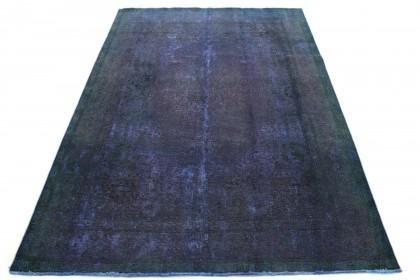 Carpetido Design Vintage Rug Purple Blue Green in 350x250