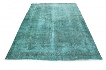 Carpetido Design Vintage Rug Turquoise in 370x270
