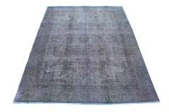 Carpetido Design Vintage-Teppich Lila Blau Grün in 270x200