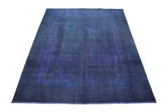 Carpetido Design Vintage-Teppich Blau in 410x300