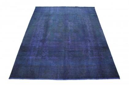 Carpetido Design Vintage Rug Blue in 410x300