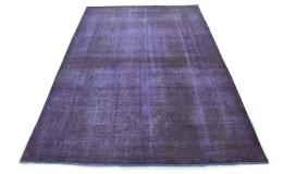 Carpetido Design Vintage-Teppich Lila in 350x250