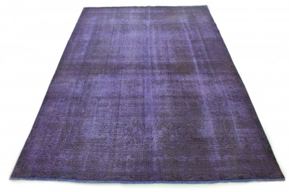 Carpetido Design Vintage Rug Purple in 350x250