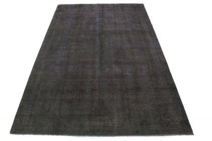 Carpetido Design Vintage-Teppich Anthrazit Grau Schwarz in 400x260