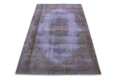 Carpetido Design Vintage-Teppich Lila in 200x130