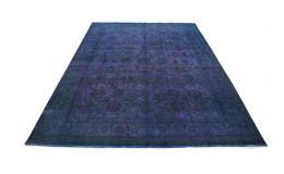 Carpetido Design Vintage-Teppich Blau Lila in 480x340