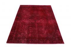Carpetido Design Vintage-Teppich Rot in 280x190