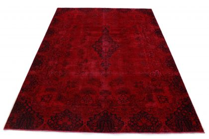 Carpetido Design Vintage-Teppich Rot in 380x280