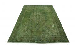 Carpetido Design Vintage-Teppich Grün in 350x240