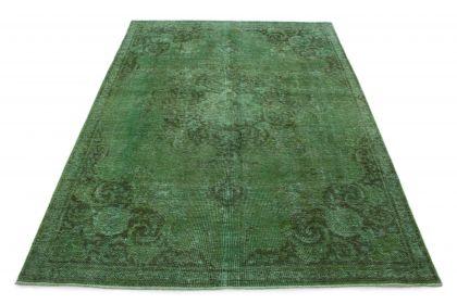 Carpetido Design Vintage-Teppich Grün in 320x230