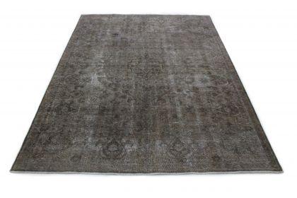 Carpetido Design Vintage-Teppich Grau in 340x240