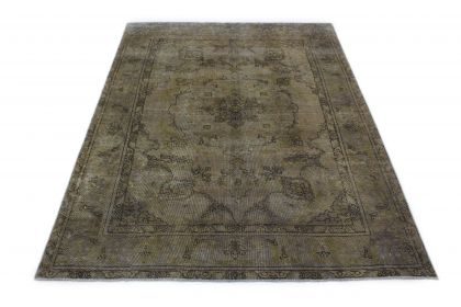 Carpetido Design Vintage-Teppich Grau in 290x200