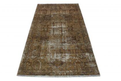 Carpetido Design Vintage-Teppich Grau in 200x110