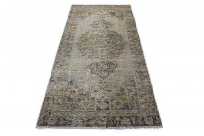 Carpetido Design Vintage-Teppich Grau in 240x110
