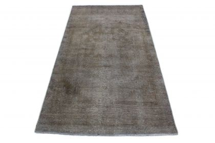 Carpetido Design Vintage-Teppich Grau in 230x120