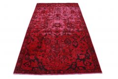 Carpetido Design Vintage Rug Red in 240x150