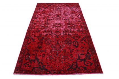 Carpetido Design Vintage-Teppich Rot in 240x150
