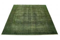 Carpetido Design Vintage-Teppich Grün in 290x290