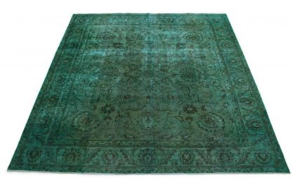 Carpetido Design Vintage-Teppich Grün in 320x300