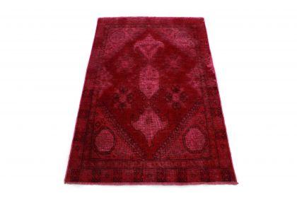 Carpetido Design Vintage-Teppich Rot in 140x90