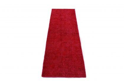 Carpetido Design Vintage-Teppich Läufer Rot in 210x70