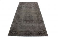 Carpetido Design Vintage-Teppich Grau in 290x140