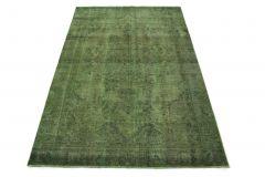 Carpetido Design Vintage-Teppich Grün in 280x180