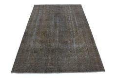 Carpetido Design Vintage-Teppich Grau in 280x190
