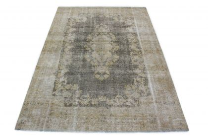 Carpetido Design Vintage Rug Light Gray Gray in 320x220