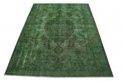 Carpetido Design Vintage-Teppich Grün in 320x240