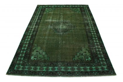 Carpetido Design Vintage Rug Green in 320x220