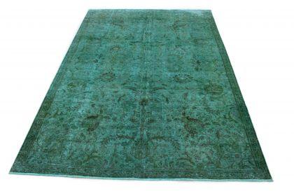 Carpetido Design Vintage Rug Turquoise in 330x230