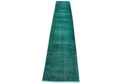 Carpetido Design Vintage Rug Turquoise in 490x80