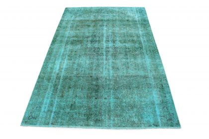 Carpetido Design Vintage Rug Turquoise in 290x180